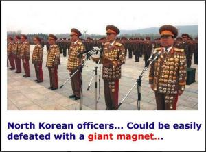 North Korean officers