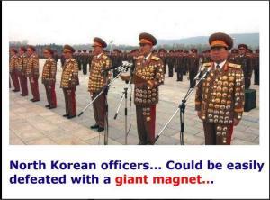 North Korean officers