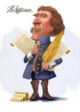 cartoon Jefferson