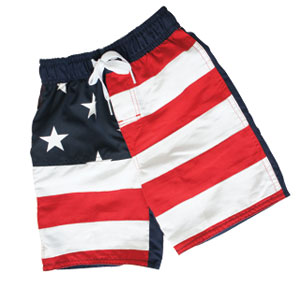 RWB Swim Trunks